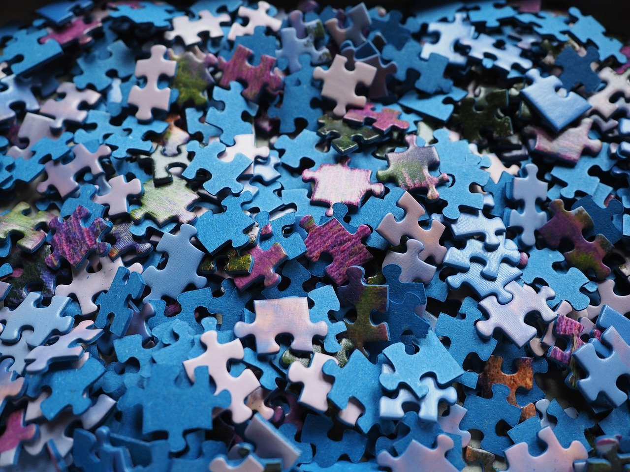 pieces of the puzzle, puzzle, play